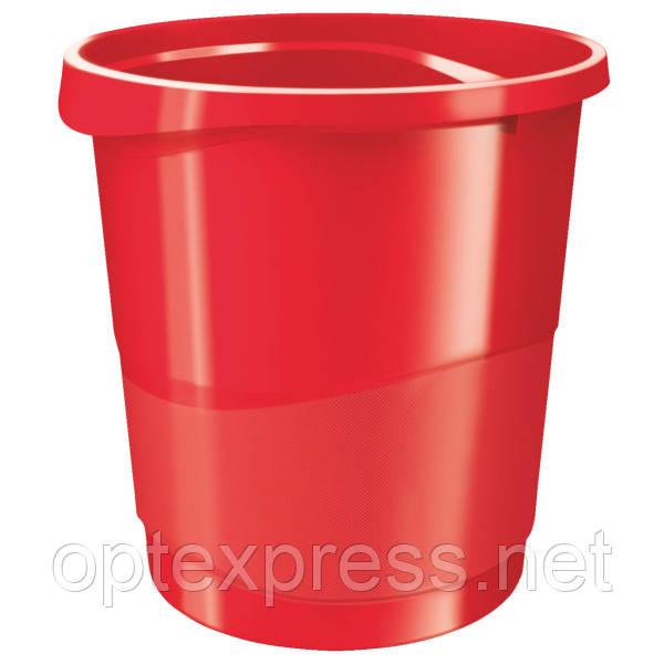 Корзина для мусора Esselte Europost VIVIDA. Красная