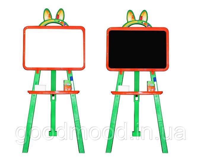 Дошка для малювання магнітна 013777/3 помаранчево-зелений