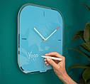 Настенные стеклянные часы Leitz Cosy. Синие, фото 3