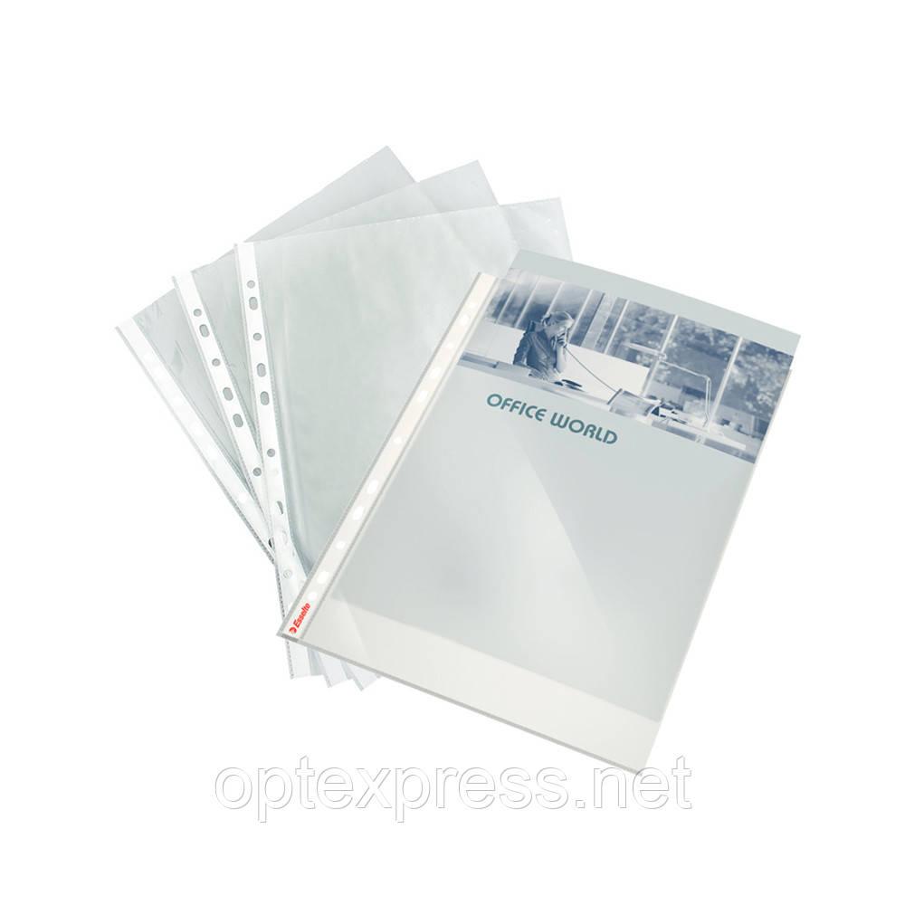 Файлові кишені Esselte Premium А4, 105 мкм.