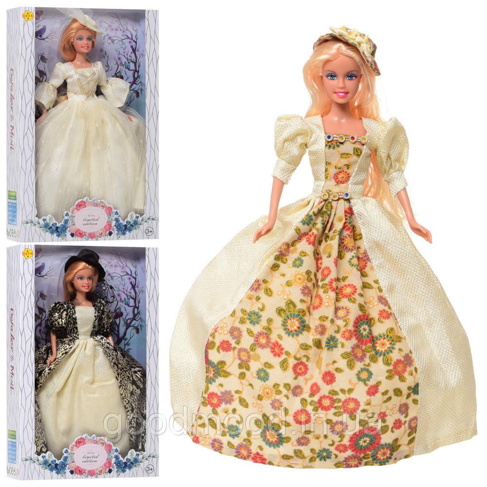 Лялька DEFA 8402-BF 3 віді, кор., 20-32-6 див.