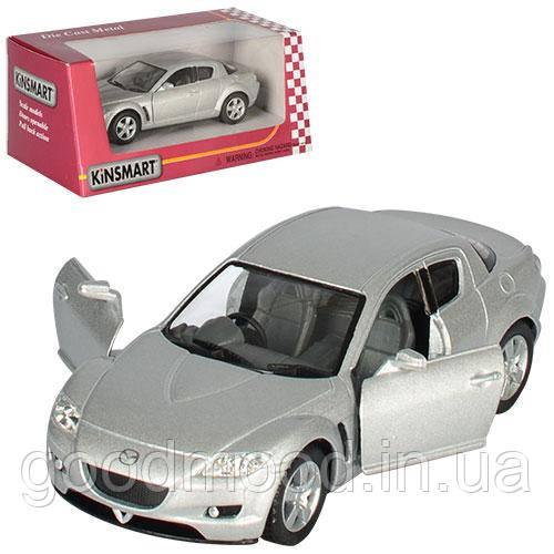 Машинка KT 5071 W мет., інерц., 1:36, відчин. двері, гумові колеса, кор., 16-7-8 см.
