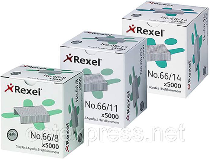 Скоби Rexel Standard №66. 5000шт.