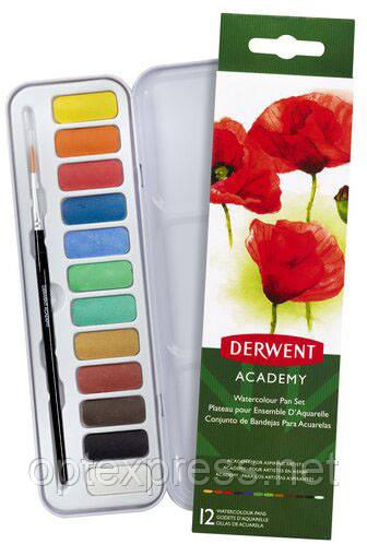 Набор акварельных красок Derwent Academy™ Watercolour.