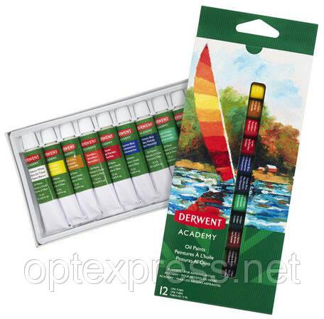 Набори масляних фарб Derwent Academy™ Oil Paints.