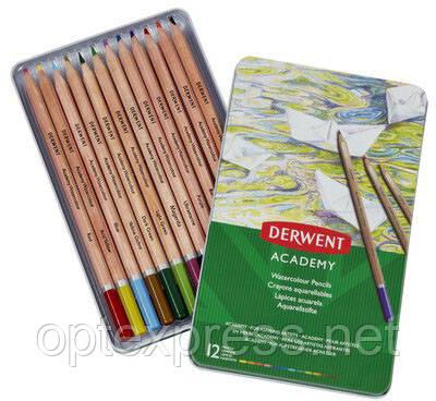 Наборы акварельных карандашей Derwent Academy™ Watercolour
