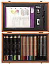 Подарочный набор в деревянной коробке Derwent Academy™ Wooden Gift Box, фото 2