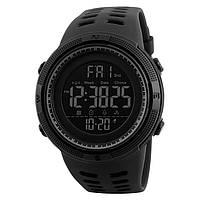 Skmei 1251 Amigo (2) чорні чоловічі спортивні годинник, фото 1