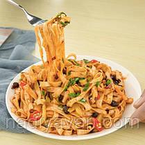 Пшенична локшина зі спеціями, овочева швидкого приготування з соєвим соусом 136г з Gudasao, фото 2