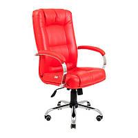 Офисное кресло руководителя Альберто Ю Пластик ТМ RICHMAN