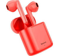 Беспроводная гарнитура Baseus Encok NGW09 TWS Bluetooth красный