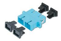 Адаптер DIGITUS SC/SC duplex, MM, керам.сердечник, DN-96005-1