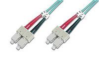 Оптический патч-корд DIGITUS SC/UPC-SC/UPC,50/125,OM3,duplex,3m, DK-2522-03/3