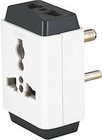 Адаптер Luminous Universal Multi Plug Adaptor, TCHMP06A03WH