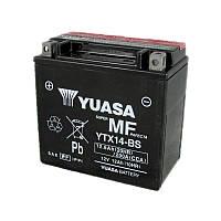Мото аккумулятор YUASA YTX14-BS