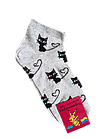 Носки женские вставка сеточка хлопок стрейч Украина р.23-25.От 10 пар по 6,50грн, фото 3