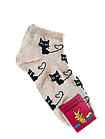 Носки женские вставка сеточка хлопок стрейч Украина р.23-25.От 10 пар по 6,50грн, фото 6