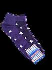 Шкарпетки жіночі вставка сіточка бавовна стрейч Україна р. 23-25.Від 10 пар по 6,50 грн, фото 2
