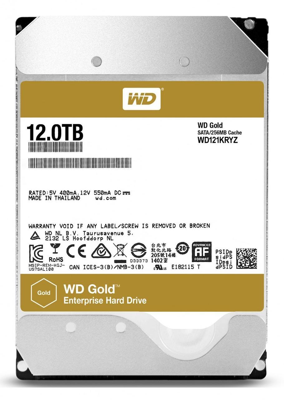 Жорстку диск WD Gold (WD121KRYZ)