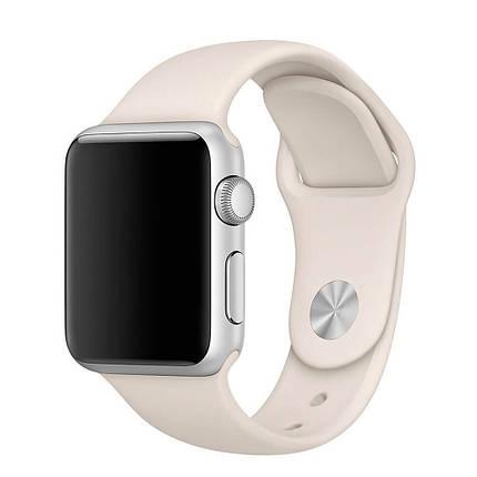 Ремінець силіконовий Sport Band 38mm   40mm Spearmint для Apple Watch SE   6   5   4   3   2   1, фото 2
