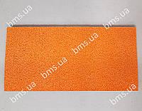 Губка гумова помаранчева 400х200х18мм medium