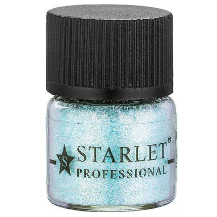 Мікроблискітки пісок Starlet Professional SP-004, блакитні, фото 2