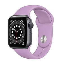 Ремешок силиконовый Sport Band 42mm | 44 mm Thistle для Apple Watch SE | 6 | 5 | 4 | 3 | 2 | 1