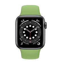 Ремешок силиконовый Sport Band 42mm | 44 mm Mint  для Apple Watch SE | 6 | 5 | 4 | 3 | 2 | 1