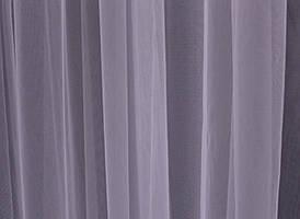Отрез (2,8х2,8м.) ткани, остаток с рулона. Тюль фатин, однотонный. Цвет светло-розовый. Код 04тфу 00-565
