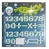Светящиеся наклейки Цифры + знаки Huada Toys 97241