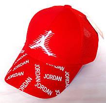 Кепка бейсболка Fashion сітка (52 см) червона