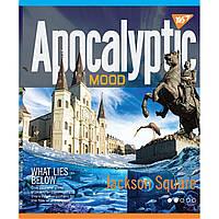Зошит 24 клітинка APOCALYPTIC ірідіум+УФ.спл МІКС Yes (10/160)