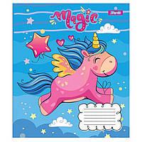Зошит 12 клітинка Happy unicorn 1Вересня (25/500)