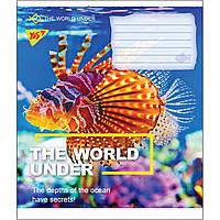 Зошит 18 клітинка WORLD UNDER Yes (25/400)