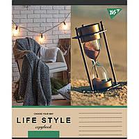 Зошит 48 клітинка LIFE STYLE Yes (10/200)