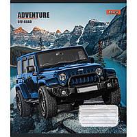 Зошит 96 клітинка Adventure off-road 1Вересня (5/120)