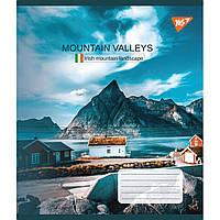 Зошит 36 клітинка Mountain valleys, Yes (15/240)