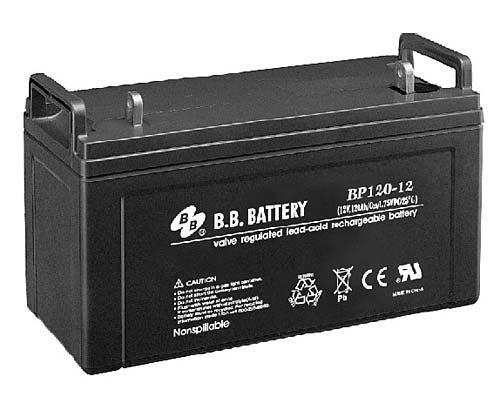 Свинцево-кислотний акумулятор BB Battery 12В 120Ач BP120-12