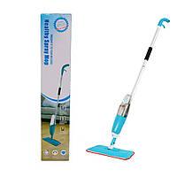 Спрей швабра с распылителем Healthy spray mop Умная швабра-лентяйка с микрофиброй 3 в 1