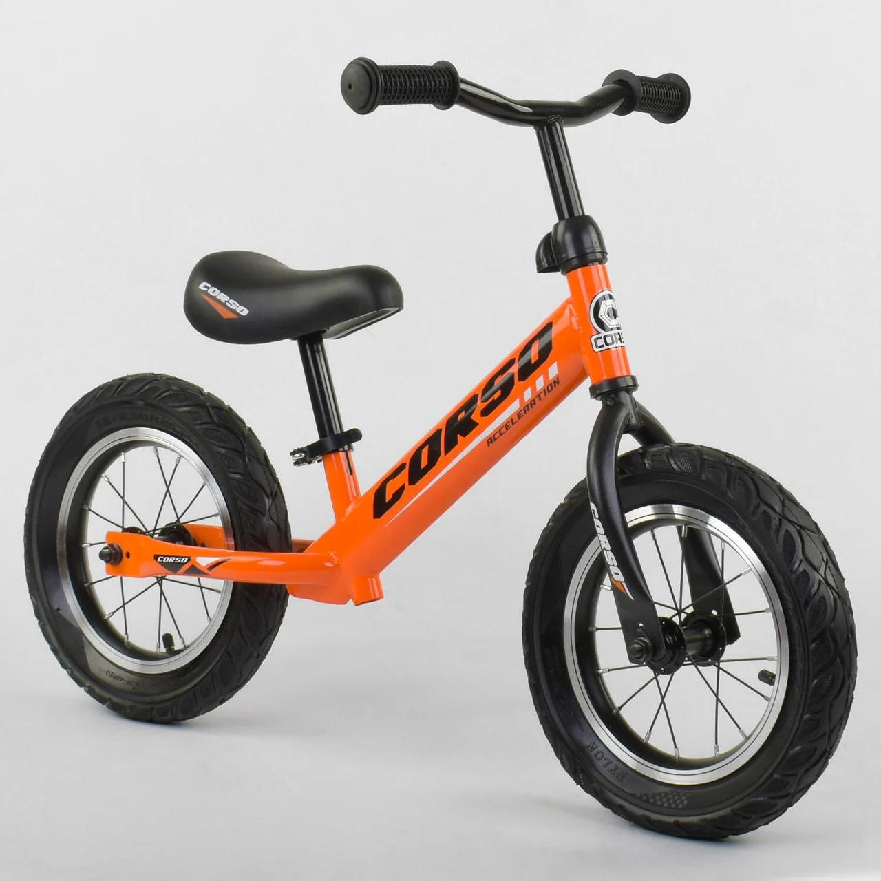 Велобіг від CORSO 68170 сталева рама колесо 12 надувні колеса