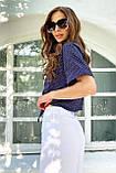 Рубашка летняя брендовая Seventeen короткая с завязками (3 цвета, р.S-M,L-XL), фото 6