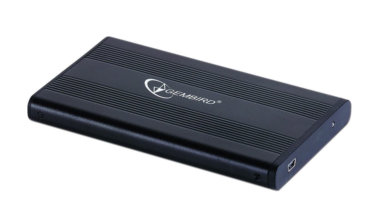 """Жорсткий диск зовнішній Gembird 2.5"""" USB 2.0 (EE2-U2S-5)"""