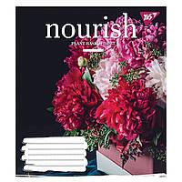Зошит 36 клітинка NOURISH мікс 4 обкладинки Yes (15/240)