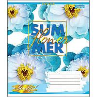 Зошит 18 лінія SUMMER FLOWER 1Вересня (25/400)