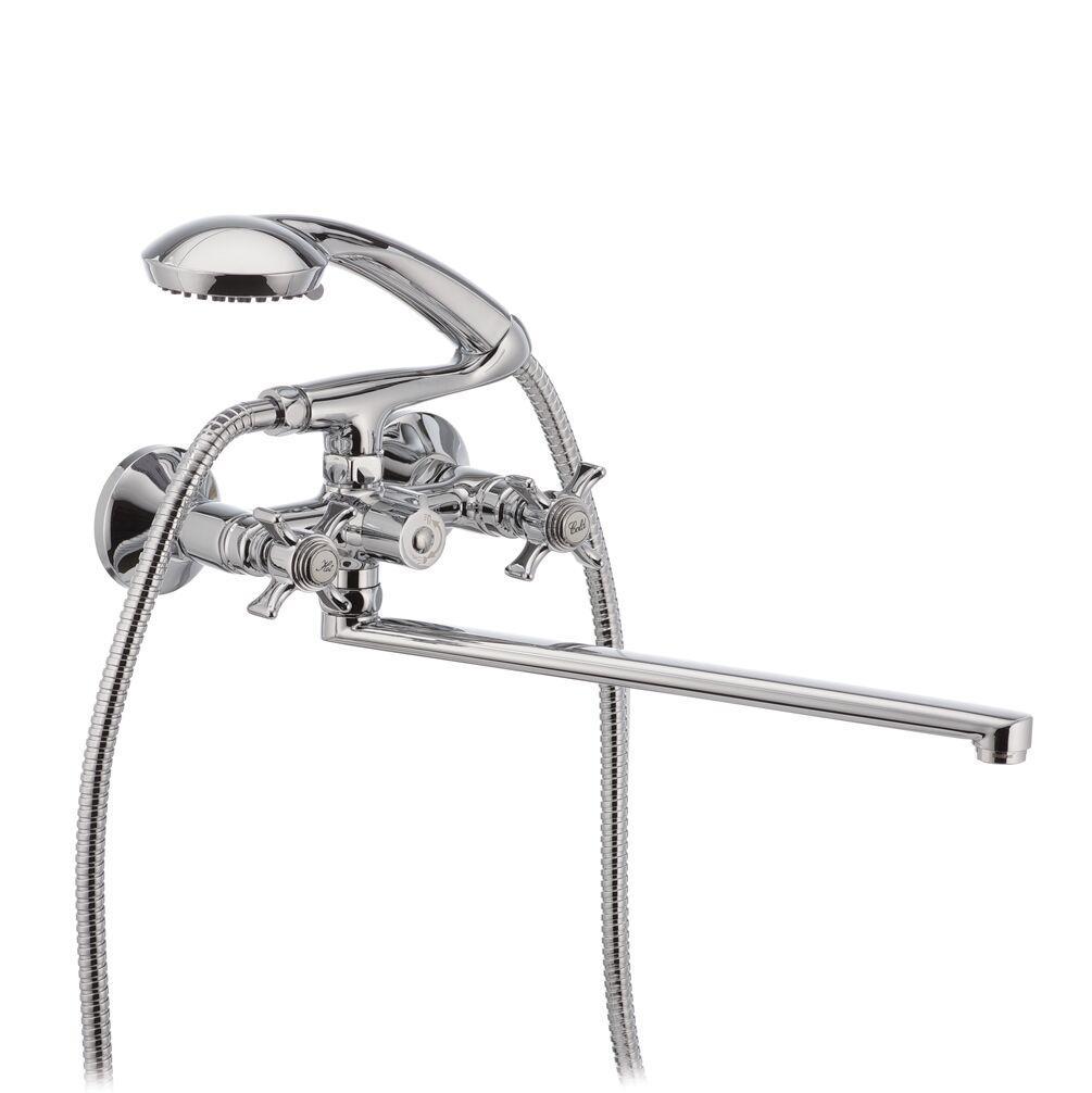 Змішувач для ванни Chrome 140 HB0420 Zeus HAIBA