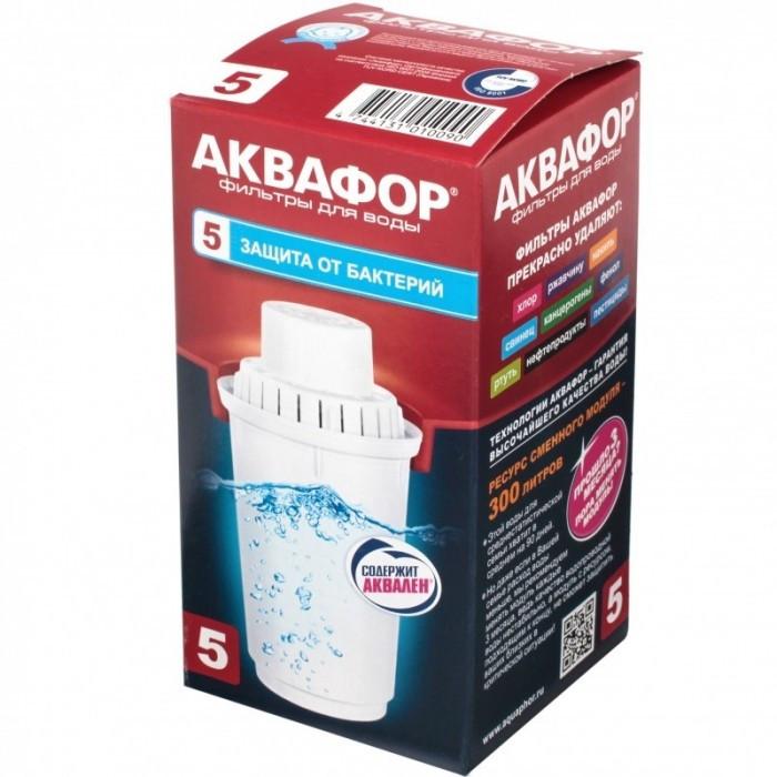 Картридж для фільтруючого глечика антібактеріальний 100-5 Аквафор Естонія