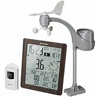 Метеостанция Bresser Weather Center ClimaTemp XXL Brown