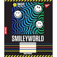 Зошит 12 клітинка SMILEY WORLD Yes (25/500)