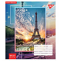 Зошит 18 клітинка Best city Yes (25/400)