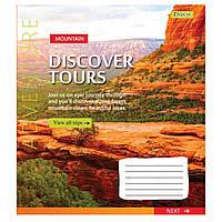 Зошит 48 клітинка Discover tours 1Вересня (10/200)